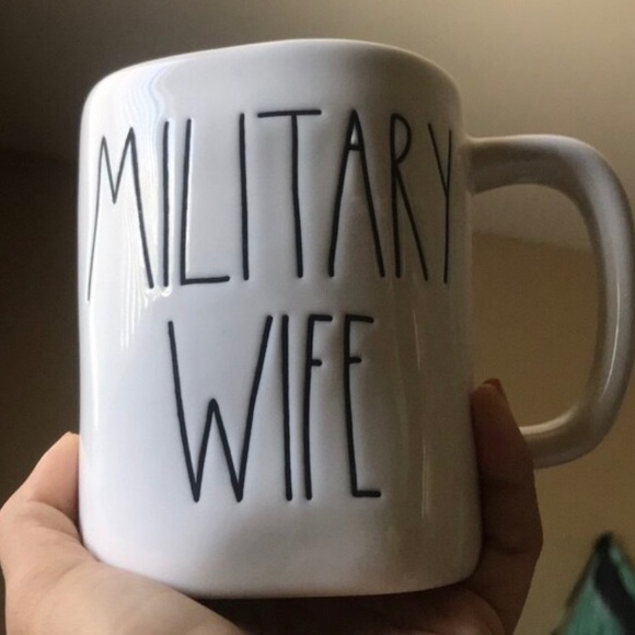 "Rae Dunn Other - Rae Dunn ""Military Wife"" mug"